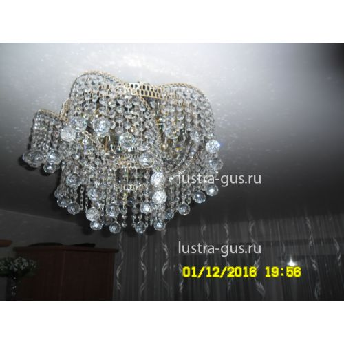 Люстра Космос шар 30 мм Гусь Хрустальный