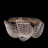 Люстра Космос 5 ламп, цвет фурнитуры: золото, Люстры Гусь Хрустальный
