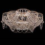 Люстра Лотос Ольга, диаметр 700 мм, цвет золото, Люстры Гусь Хрустальный