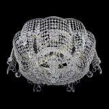 Люстра Лотос Стелла, диаметр - 700, цвет - серебро, Люстры Гусь Хрустальный