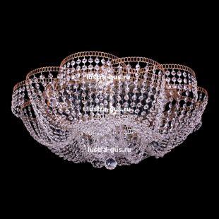 Потолочный светильник Люстра Лотос Пион 6 ламп