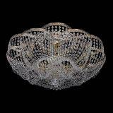 Люстра Пион Антик, диаметр - 700 мм, цвет - золото, Люстры Гусь Хрустальный