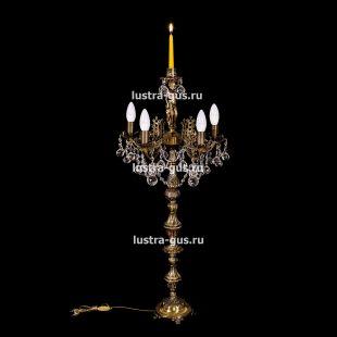 Торшер Изабелла богиня 5 ламп